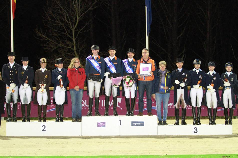 Podium FEI Nations CupTM
